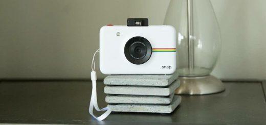 Instant Snap Sofortbildkamera Frontansicht Linse