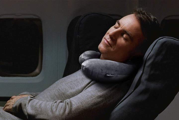 Mann Nackenkissen Flugzeug Reiseset