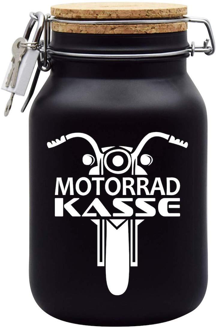 Spardose Motorradkasse