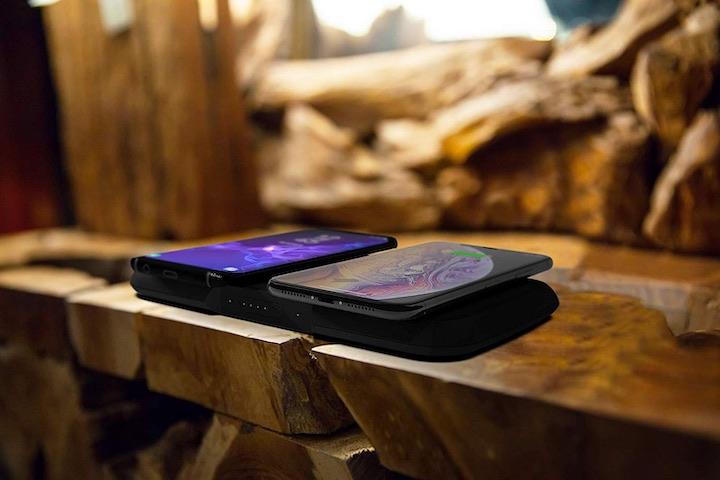 ZENS Qi Ladestation Handys Holz