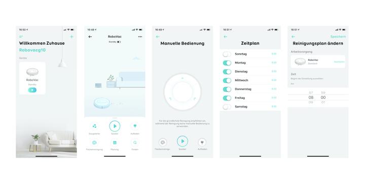 eufy RoboVac G10 Hybrid App