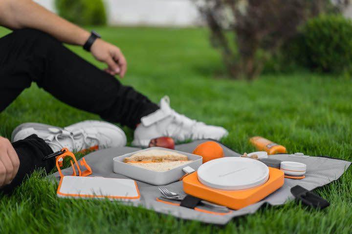 FOLDEAT f%C3%BCrs Picknick vorbereitet