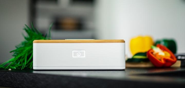 Heatbox Seitenansicht Knopf