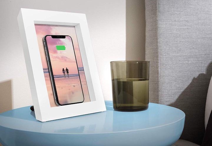 Twelve South Powerpic Bilderrahmen Smartphone Tisch Glas