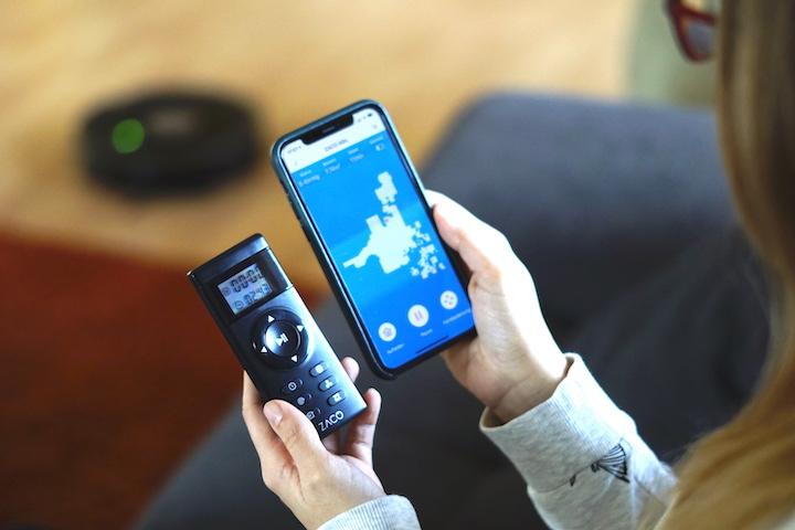 ZACO Saugroboter Fernbedienung iPhone App