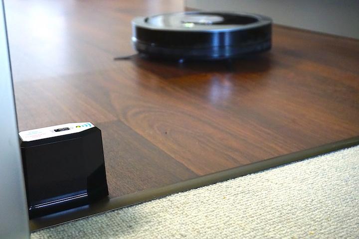 ZACO Saugroboter InvisbleWall Sensor Teppich