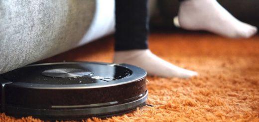 ZACO Saugroboter Teppich Füße Sofa 520x245