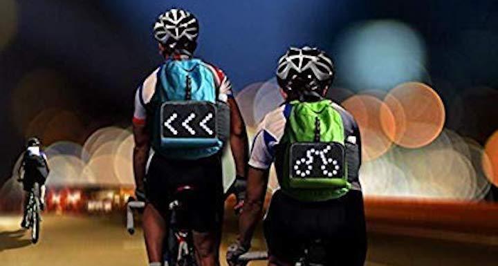 eelo Cyglo auf Fahrradfahrern