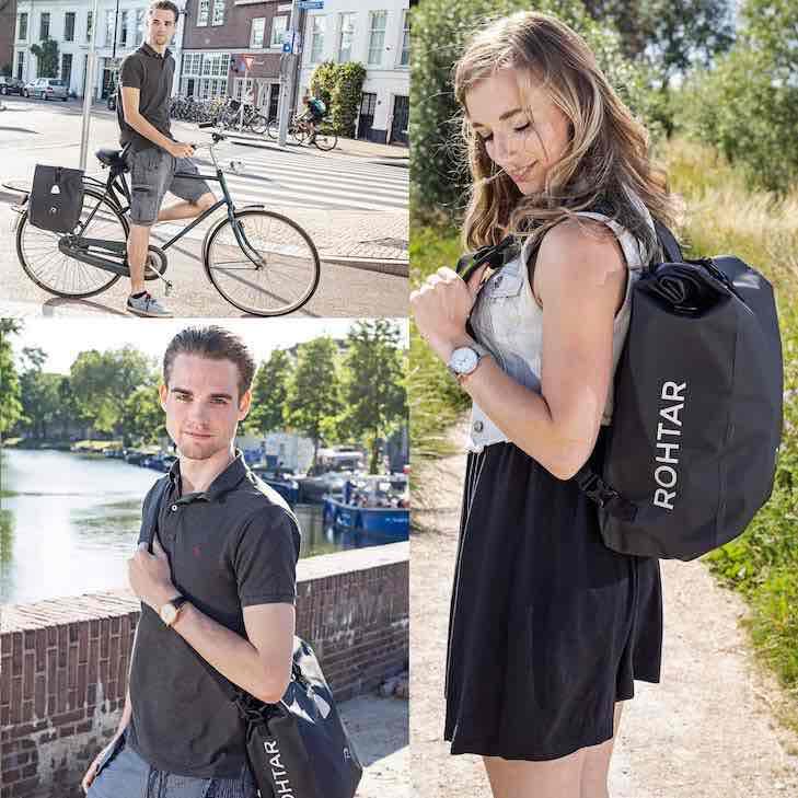 fahrradtasche rucksack umh%C3%A4ngetasche in einem