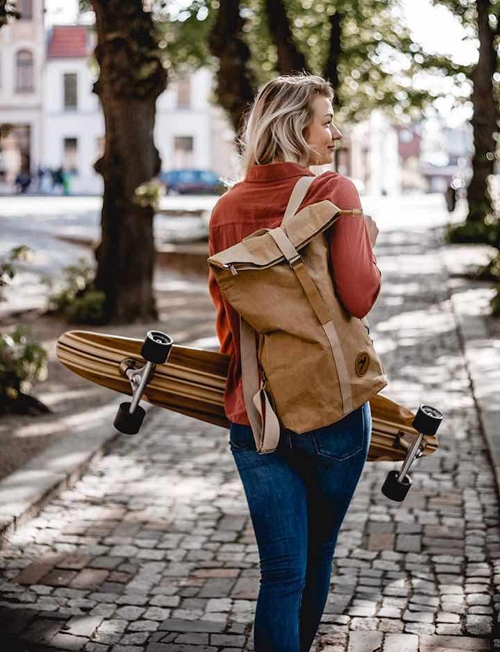 Frau Baum Papero Rucksack Longboard