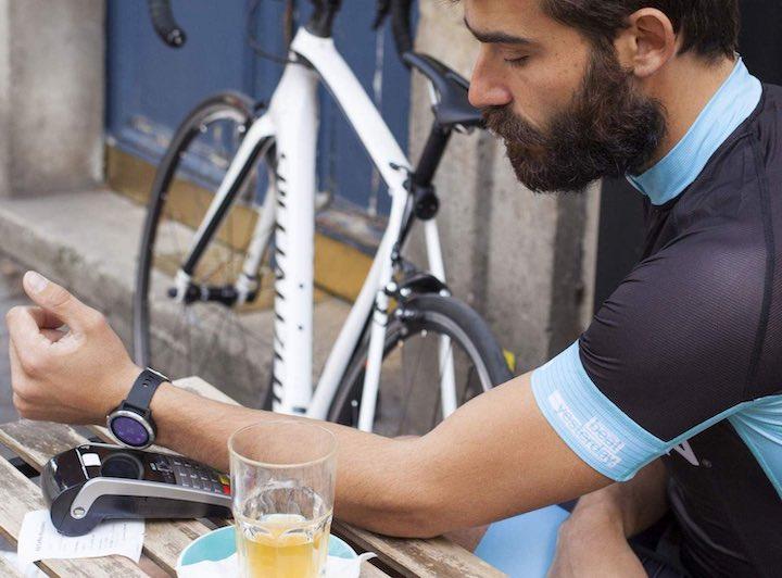 Garmin fenix 5 Smartwatch Fahrrad Mann Glas