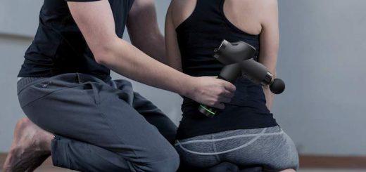 Anwendung Massagepistole