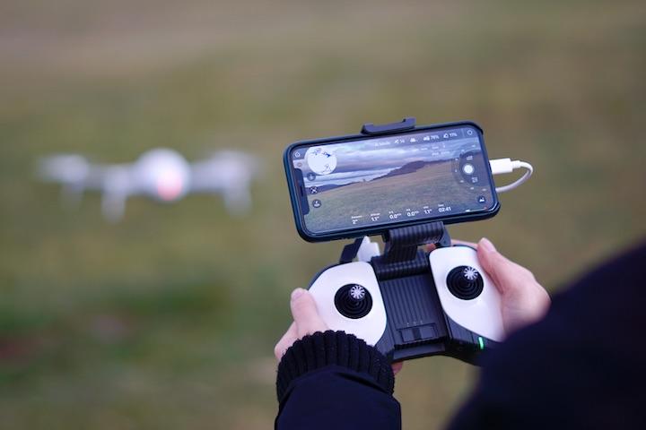 H%C3%A4nde steuern Fernbedienung der Drohne