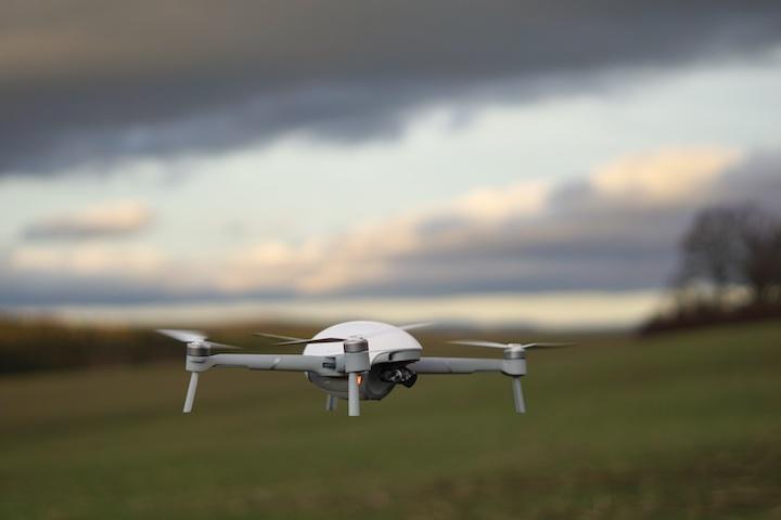 PowerVision Drohne im Freien