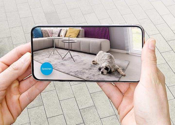 Bilder der Kamera auf dem Smartphone