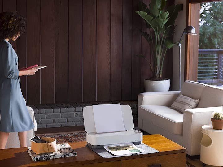 HP Tango Drucker im Wohnzimmer