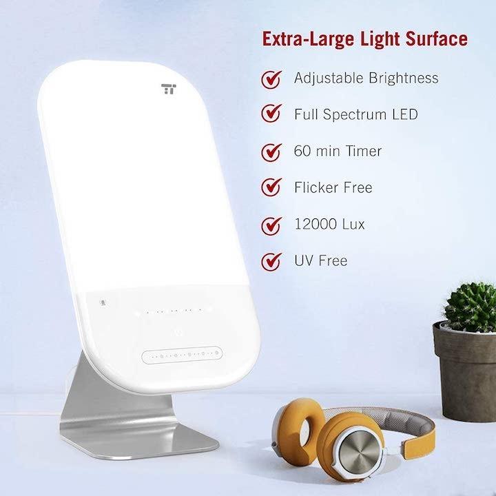 Tageslichtlampe TaoTronics mit Fakten