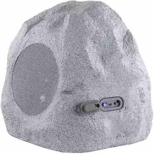 gartenlautsprecher in stein optik