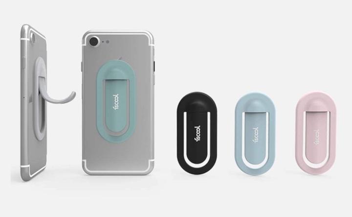 fscool Halterung an iPhone 7 mit verschiedenen Farben