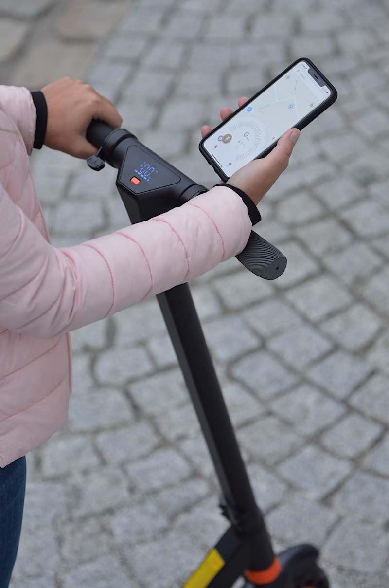 kirin s1 app escooter