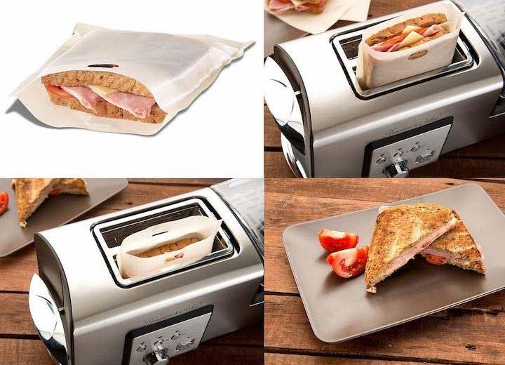 Anwendung Toastbag