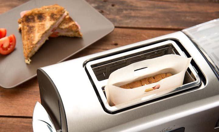 Rosenstein und Soehne Toastbag im Toaster