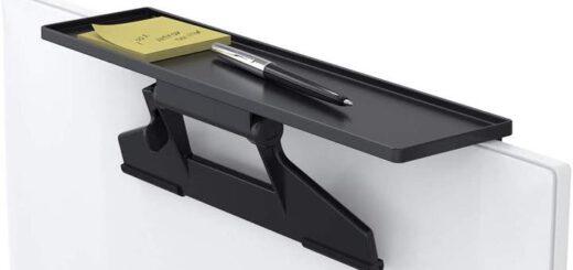 Tate Guard Monitorablage mit einem Stift und Notizblock 520x245