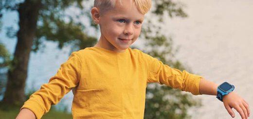 XPLORA 4 am Handgelenk von Kind