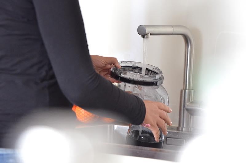 einfache reinigung slow juicer