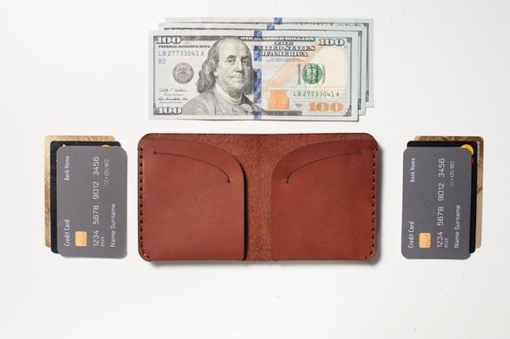 scheine und karten slim wallet