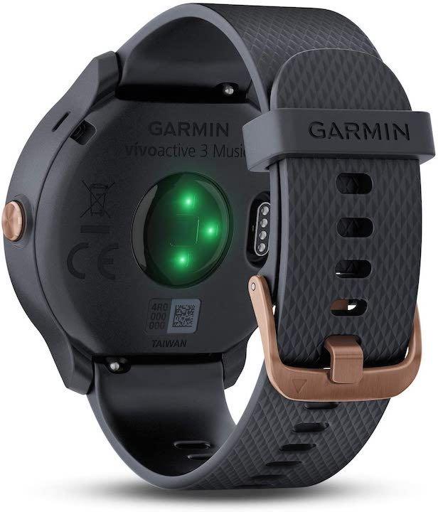 Garmin Smartwatch von hinten