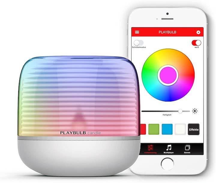 Smartes LED Teelicht mit App Anbindung