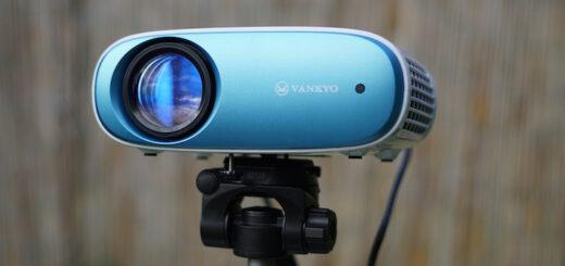 VANKYO Lichtprojektor ist auf einem Stativ befestigt 520x245