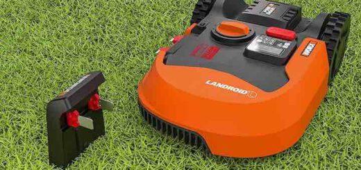 WORX Landroid L WR153E mit Ladestecker