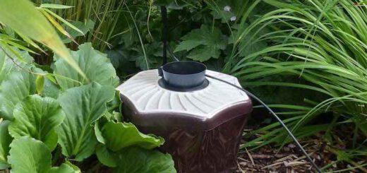 Biogents BG-Mosquitaire CO2 Mueckenfalle Nahaufnahme im Garten