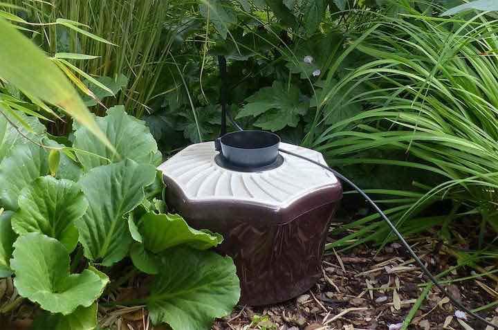 Biogents BG Mosquitaire CO2 Mueckenfalle Nahaufnahme im Garten