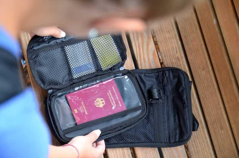 Dokumentenfach kleine Packtasche