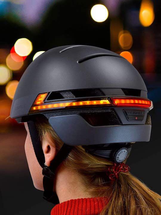 Rueckansicht LIVALL BH51M Helm