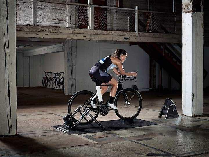 Wahoo KICKR HEADWIND Ventilator im Training beim Radfahren