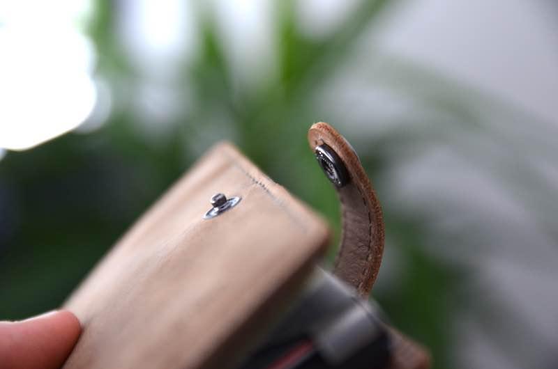 druckknopf verschluss ledlenser wallet