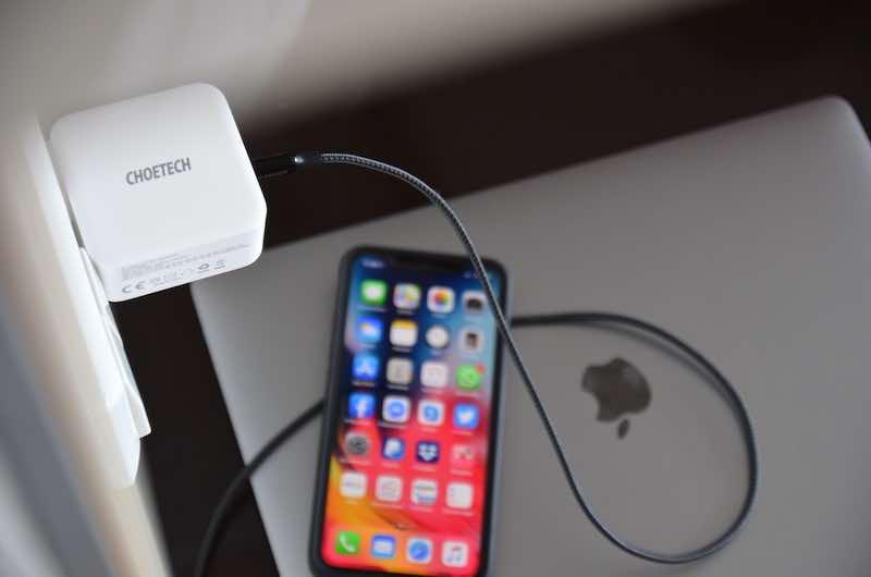 iphone schnell laden choetech