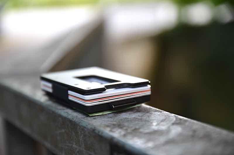 ultra slim wallet mit muenzfach
