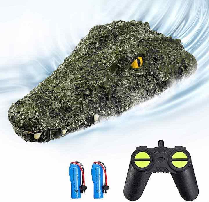Lieferumfang ferngesteuertes Krokodil Lustige Gadgets