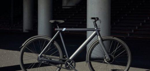 E Bike von Vanmoof in schwarz 520x245