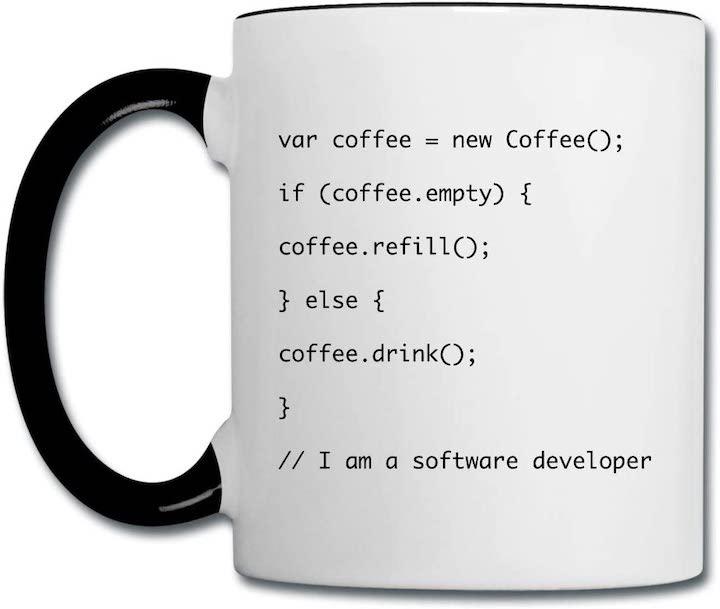 Javascript Tasse Nerds
