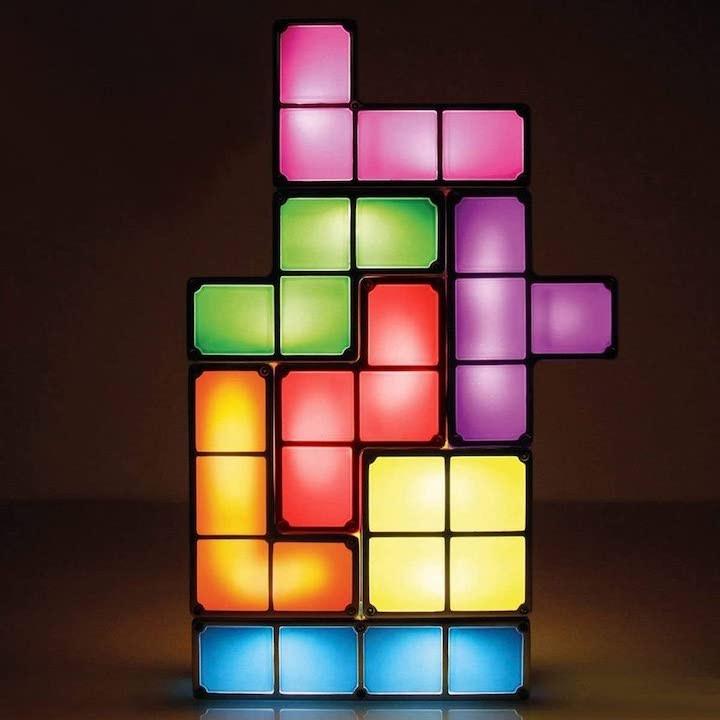 Nerd Gadgets Tetris Lampe
