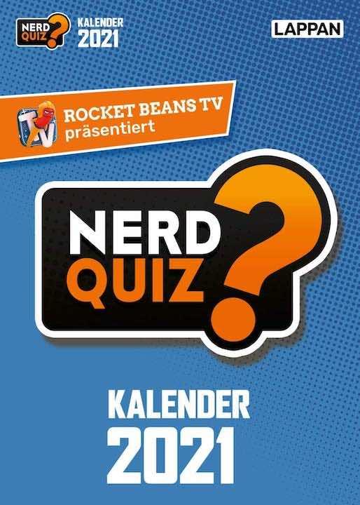 Nerd Quiz Kalender 2021