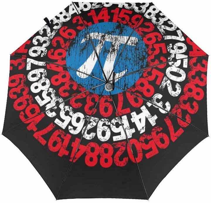 Pi Regenschirm Nerd Gadgets