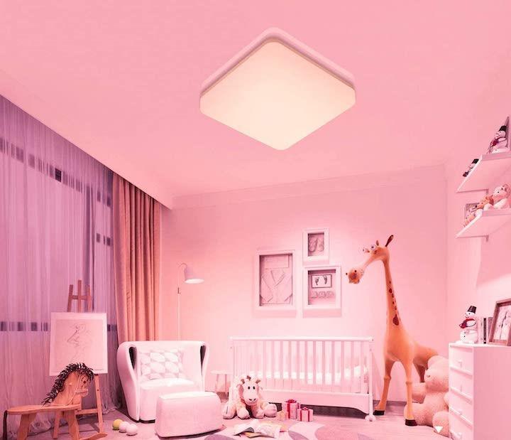 Wifi Deckenleuchte im Kinderzimmer