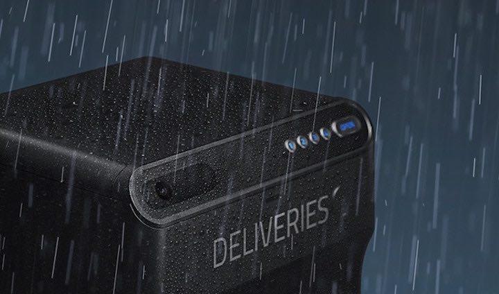 eufy Security SmartDrop im Regen